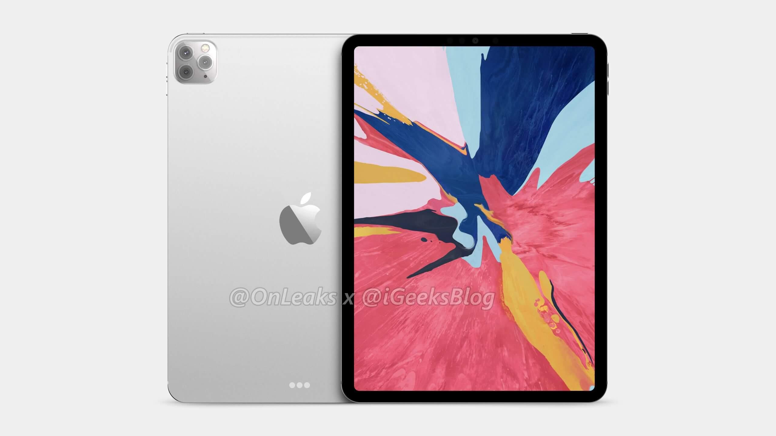 2020 11-inch iPad Pro with Triple Camera