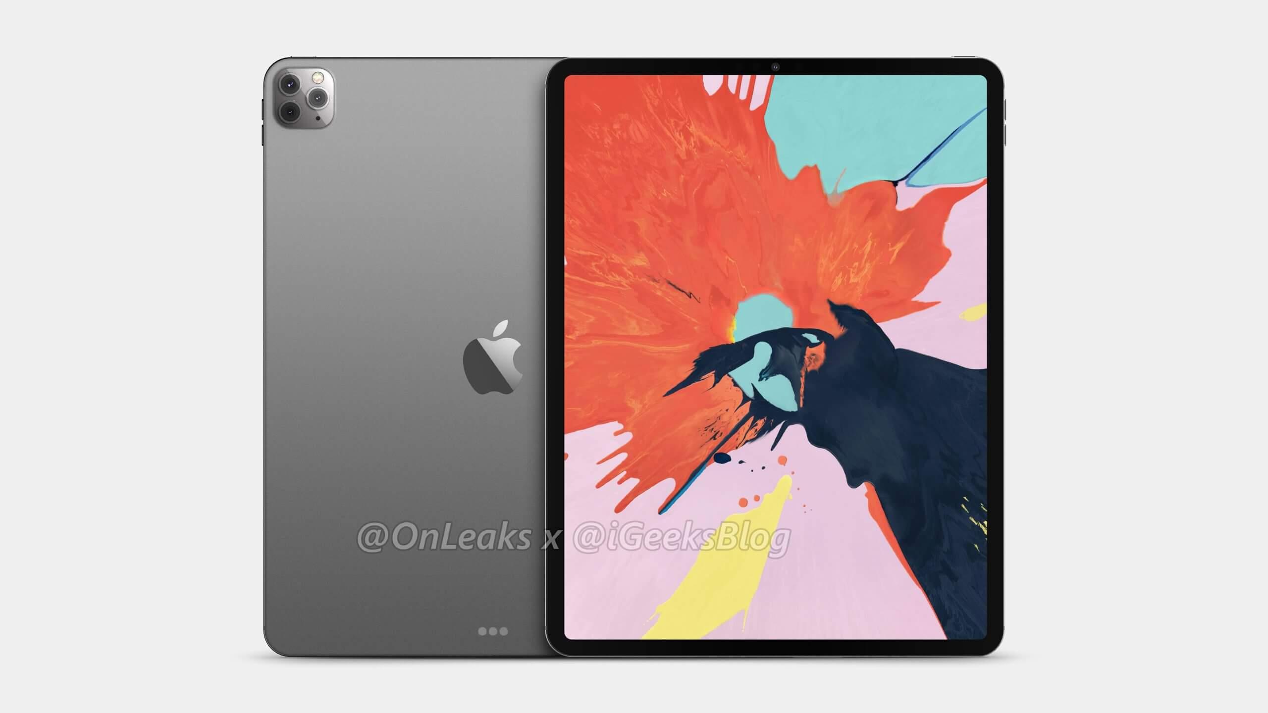 2020 12.9-inch iPad Pro with Triple Camera
