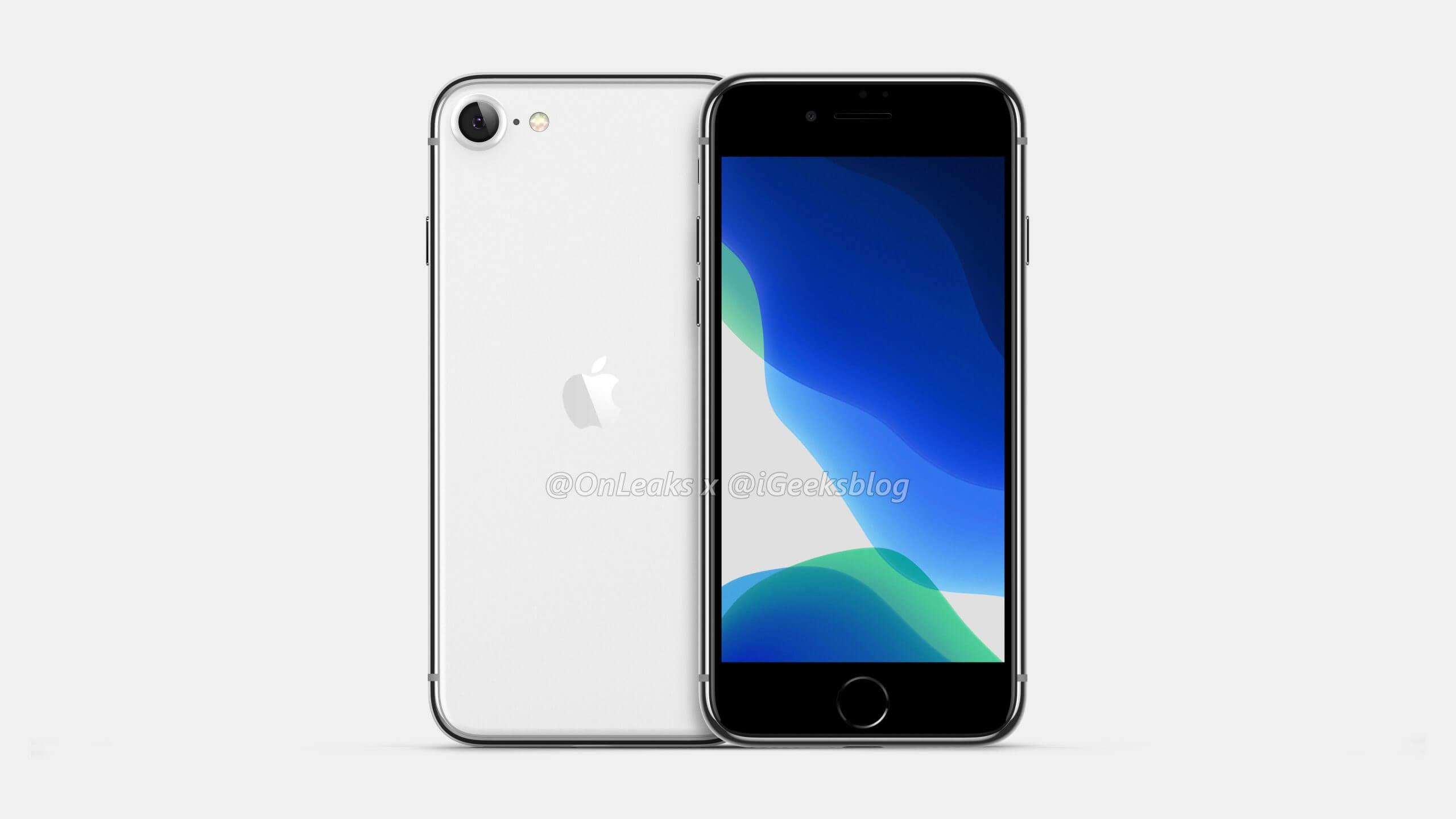 2020 iPhone SE 2 4.7 LCD display
