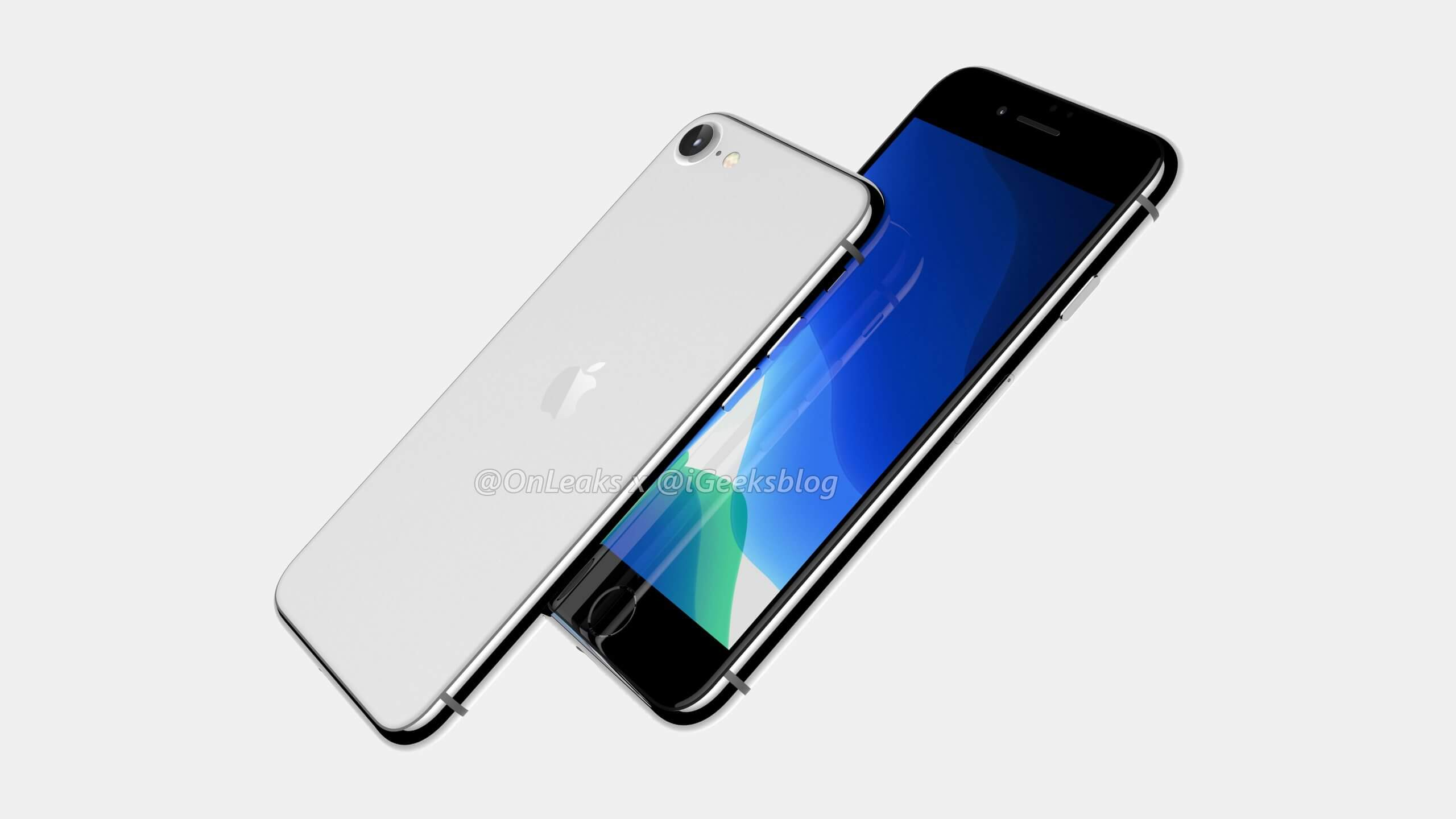 2020 iPhone SE 2 Frosted Glass Back