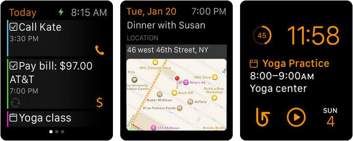 24me Apple Watch Reminder App Screenshot