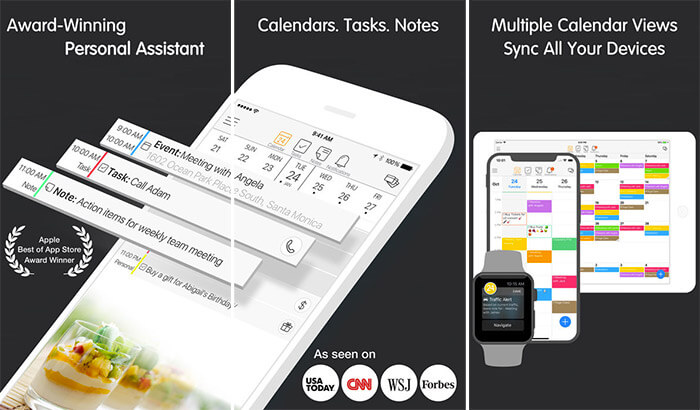 24me Smart Personal Assistant Apple Watch and iPhone App