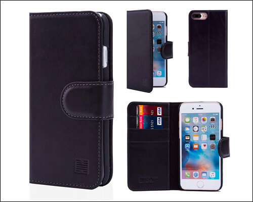 32ndShop iPhone 7 Plus Leather Wallet Case