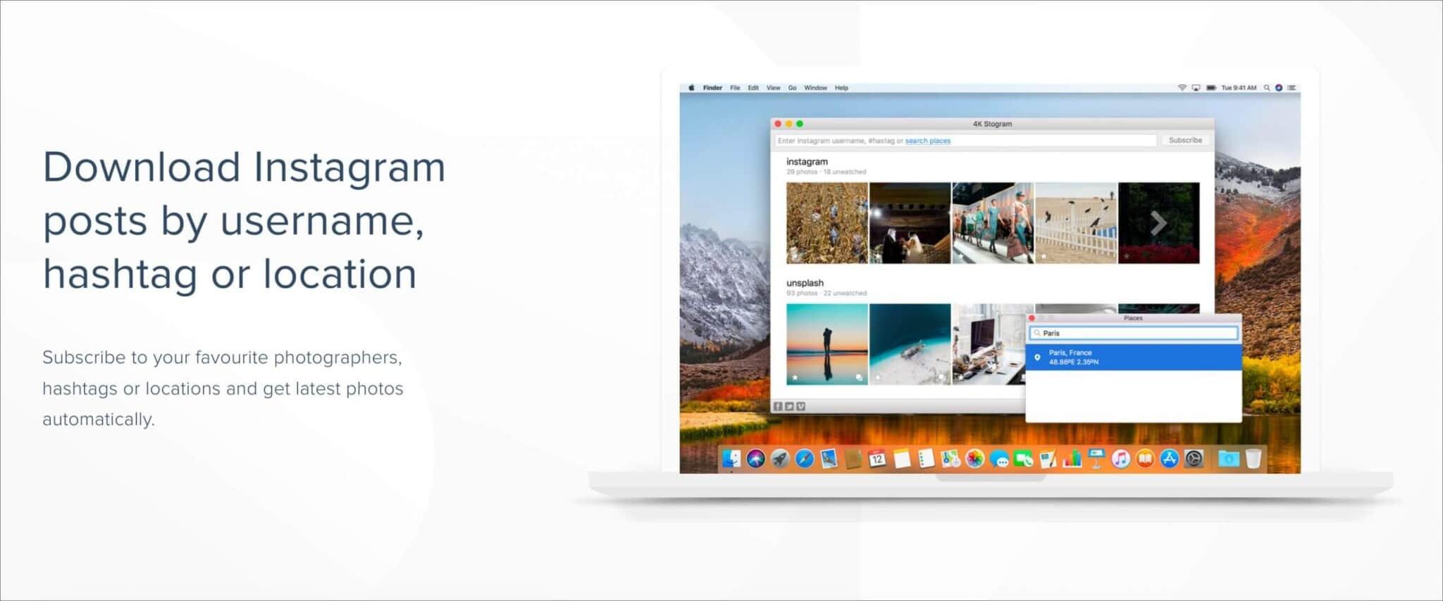 4K Stogram Features