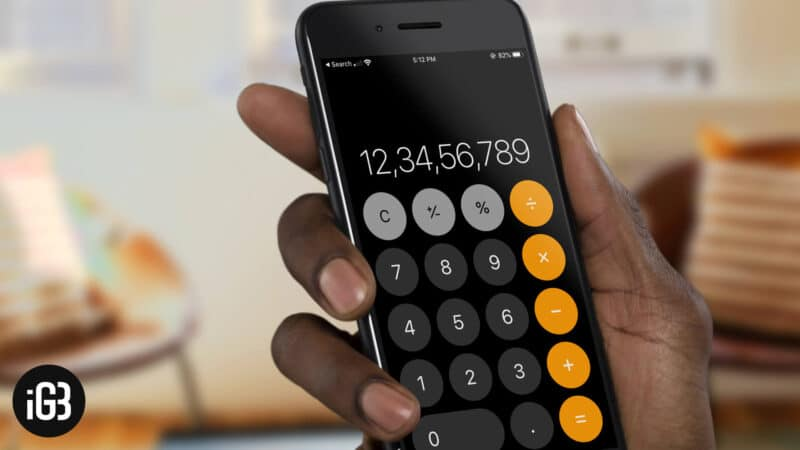 5 iPhone Calculator Tips and Tricks You Didn't Know
