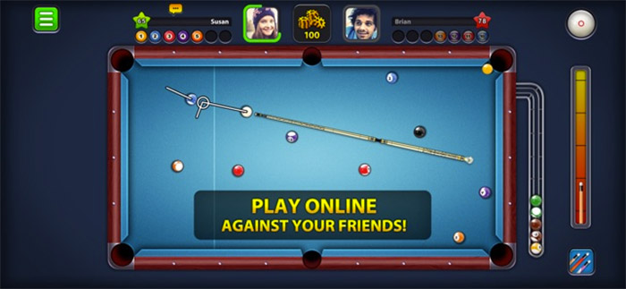 8 Ball Pool Game App for iPhone and iPad Screenshot