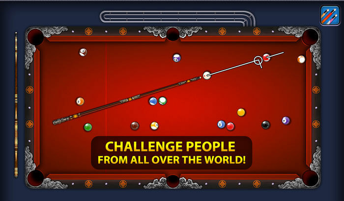 8 Ball Pool Kill Stress iPhone and iPad Game Screenshot