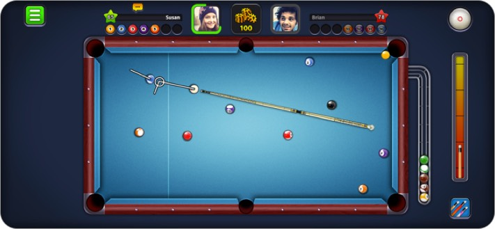 8 Ball Pool iOS Game to Play with Friends
