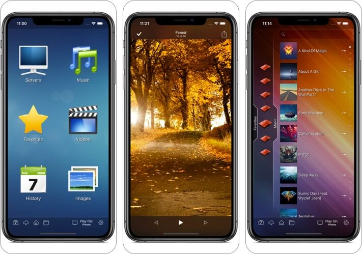8player pro iphone and ipad video app screenshot