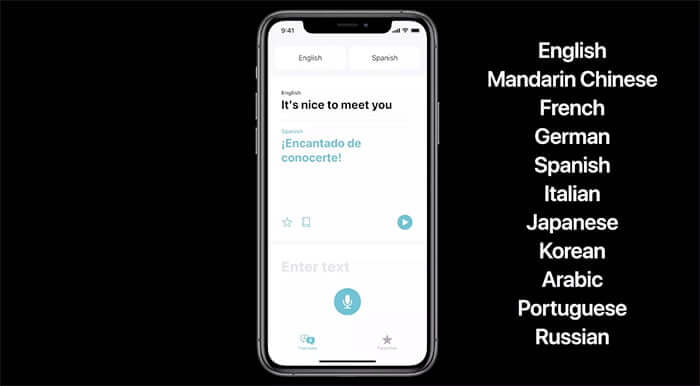 A new Translate app in iOS 14