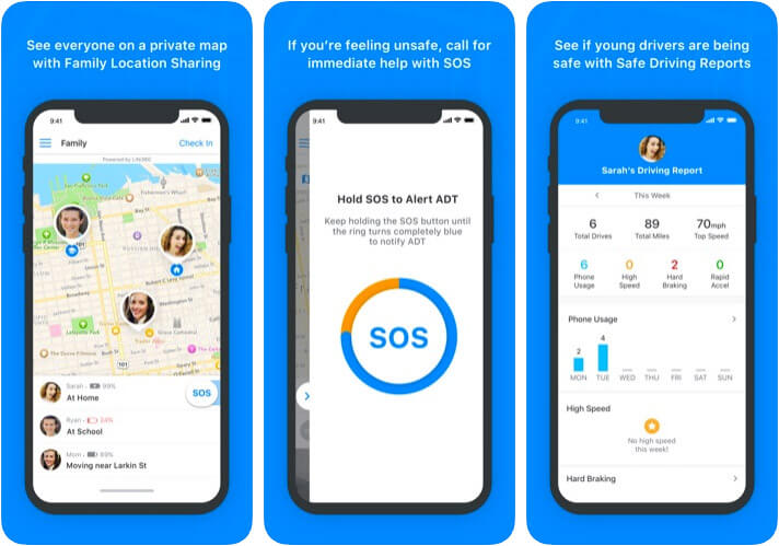 ADT Go iPhone and iPad Personal Safety App Screenshot