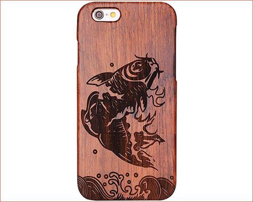AENMIL iPhone 6 Plus Handmade Wooden Case