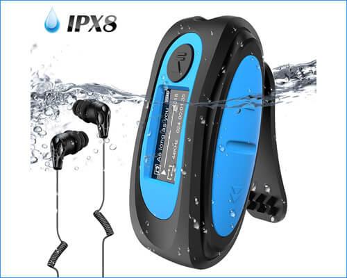 AGPTEK Waterproof Headphones for Swimming