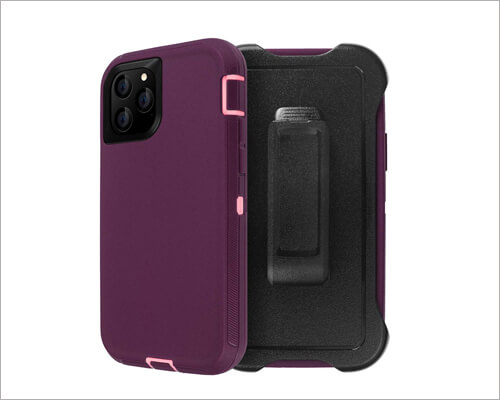 AICase iPhone 11 Pro Belt Clip Holster Case