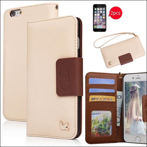 AILUN iPhone 6s Plus Wallet Case