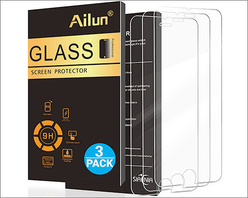 AILUN iPhone 6s Tempered Glass Screen Protector