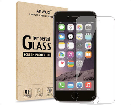 AKWOX iPhone 6s Plus Glass Screen Protector