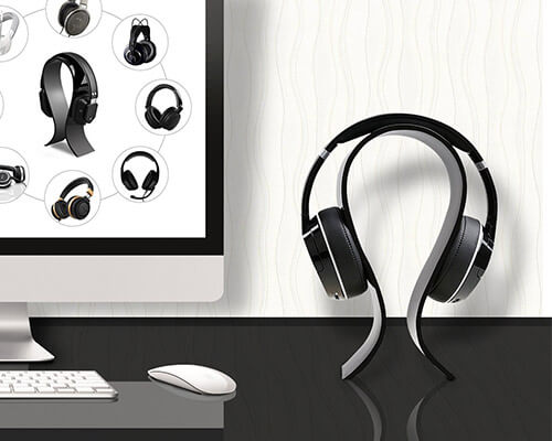 AMOVEE Gaming Headset Stand Holder