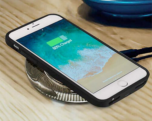 ANGELIOX Wireless Charging Case for iPhone 6-6s Plus