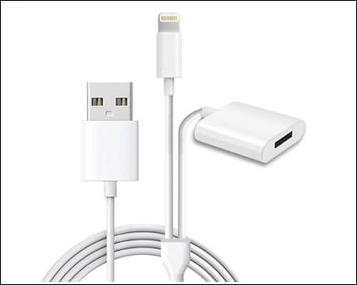 ANIASOM Apple Pencil Charging Adapter Cable