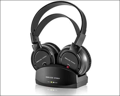 ANSTEN Wireless Headphones with Charging Dock for Apple TV