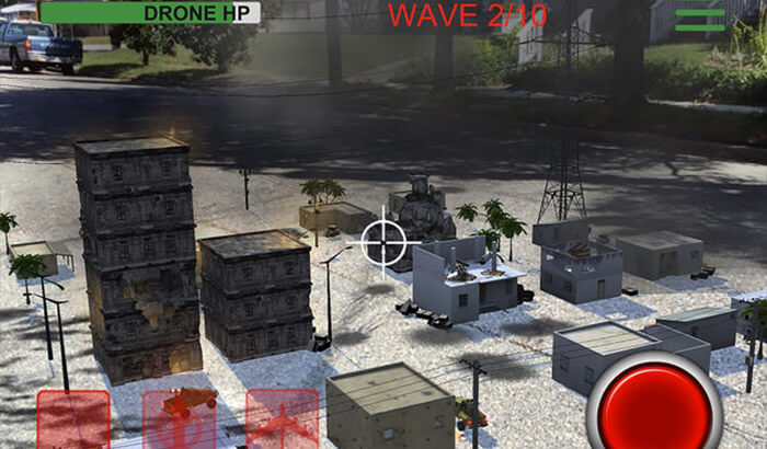 AR Drone Commander Lite iPhone and iPad Game Screenshot