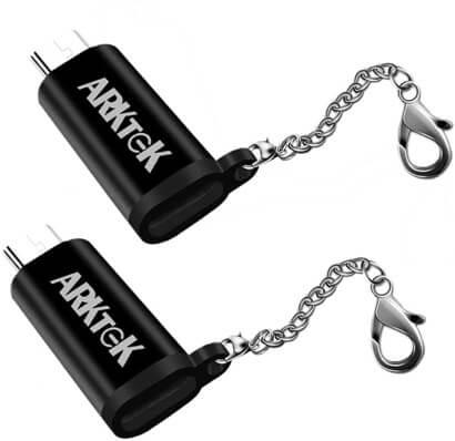 ARKTEK lightning to micro usb adapter