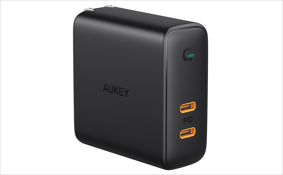AUKEY Portable USB-C Wall Charger