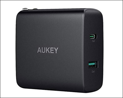 AUKEY iPhone Xs Max, XS, and iPhone XR USB C Charger