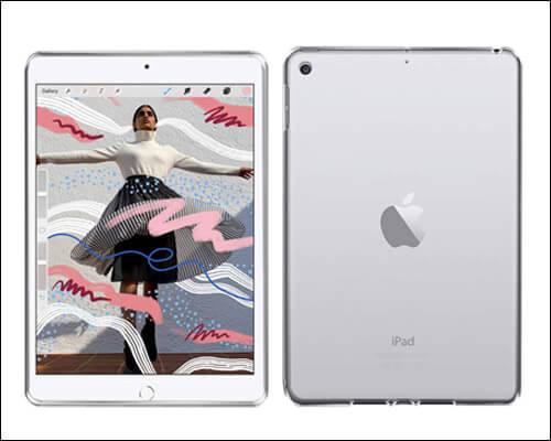 AVIDET iPad Mini 5 Transparent Case