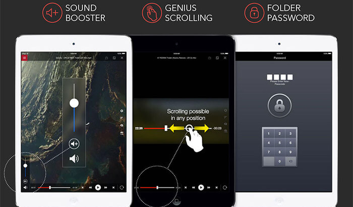AVPlayer HD iPad App Screenshot
