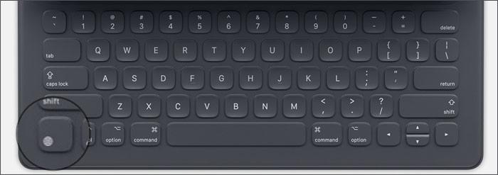 Access emoji with the Smart Keyboard