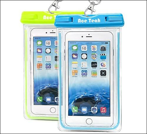 Ace Teah Waterproof Pouch for iPhone SE