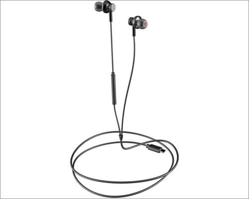 Acessorz USB C Magnetic Earbuds Compatible with iPad Pro