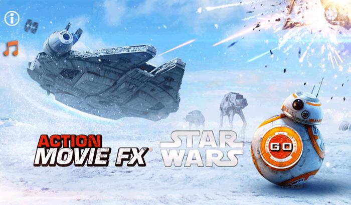 Action Movie FX Movie Maker iPhone App Screenshot