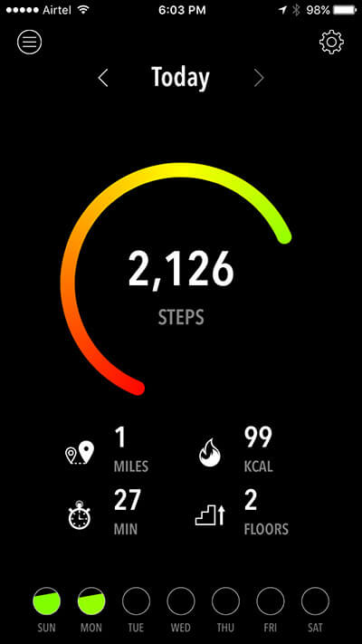 Activity Tracker iPhone App