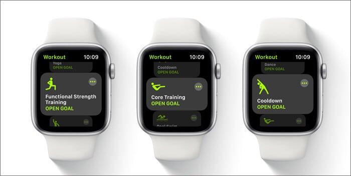 Activity app has renamed as fitness app