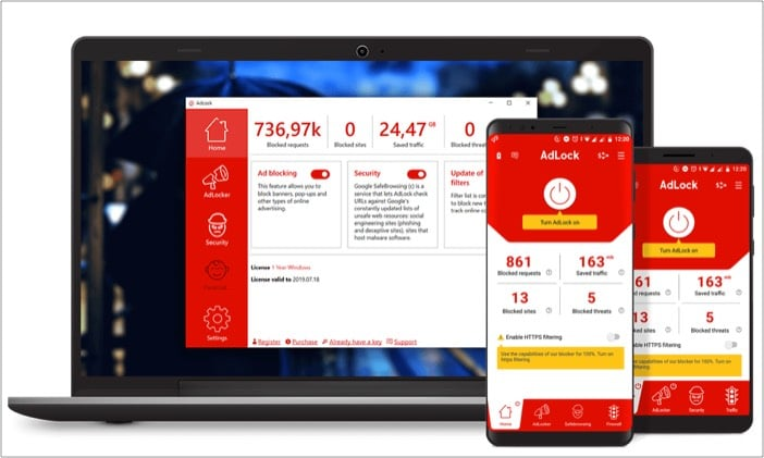 AdLock app to optimize your Mac