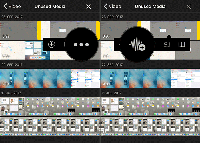 Add Audio Only Clip to iMovie on iPad