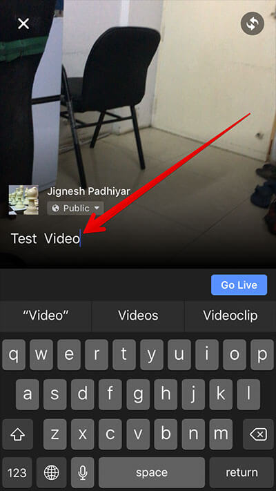 Add Caption to Facebook Live Video