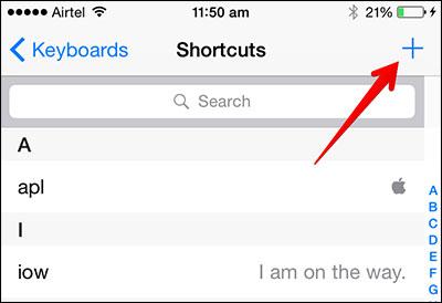 Add Emoji Shortcut on iPhone