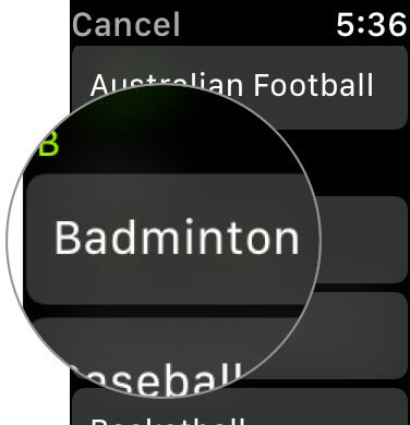 Add Favorite Fitness Activity to Workout App on Apple Watch