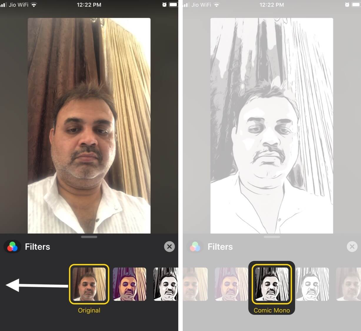 Add Filters to Change Your Face on FaceTime