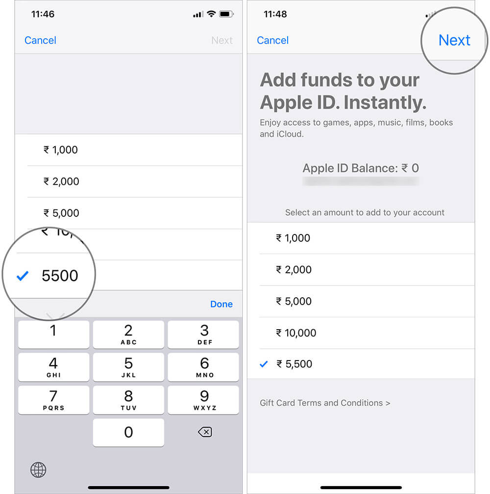 Add Funds to your Apple ID on iPhone or iPad