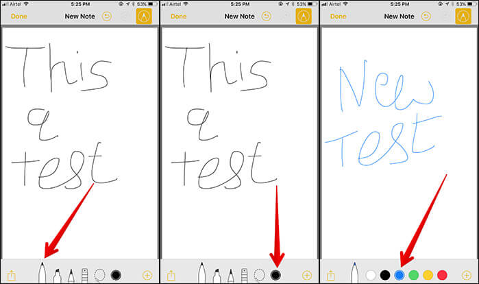 Add Instant Markup in Notes App in iOS 11 on iPhone and iPad