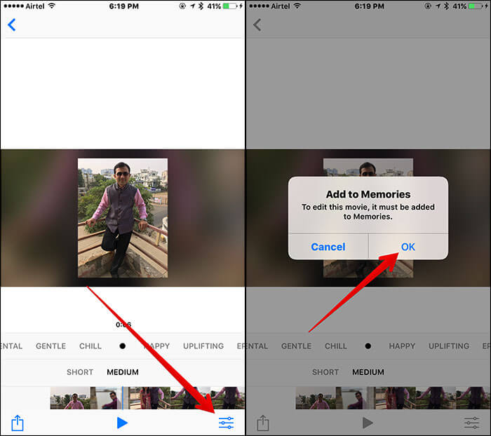 Add People Album to Memories in iOS 10