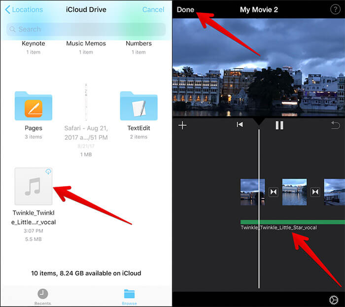 Add Royalty-free Music to iMovie on iPhone and iPad