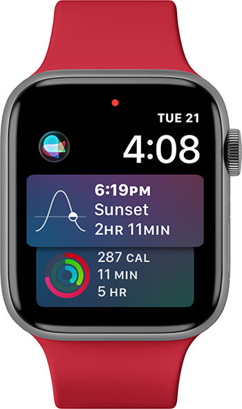 Add Siri to Watch Face on Apple Watch