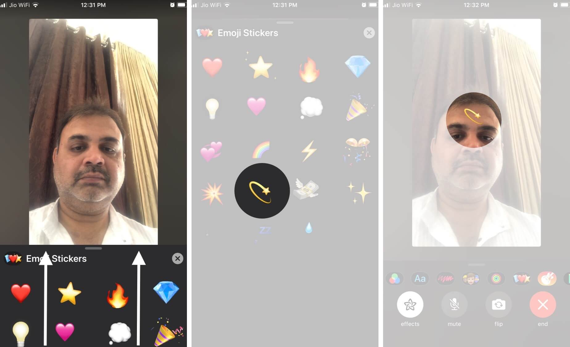 Add Stickers to FaceTime Video Calls on iPhone