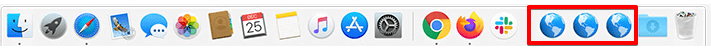 Add and create Website Shortcut to Dock on Mac
